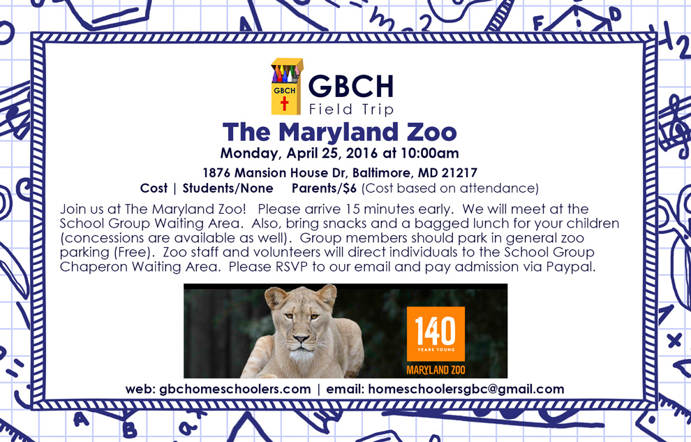 April-Field-Trip--The-Maryland-Zoo