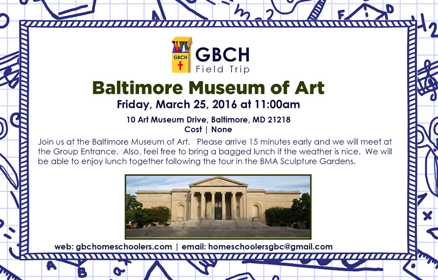 March-Field-Trip--Baltimore-Museum-of-Art